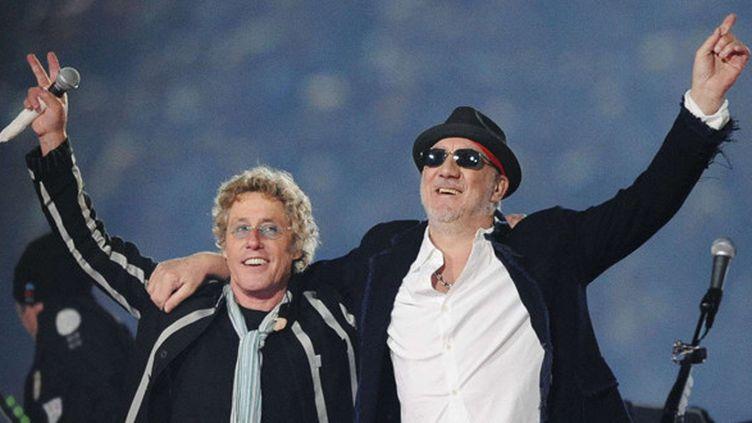 Roger Daltrey et Pete Townshend en février 2010 à Miami.  (Mark J. Terrill/AP/SIPA)