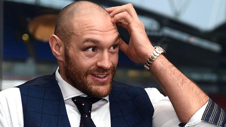 Le boxeur Tyson Fury