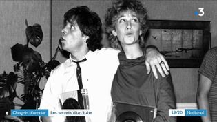 Le groupe Chagrin d'amour composé de Grégory Ken et Valli. (Capture d'écran France 3)
