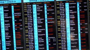 Des dizaines de vols annulés lors d'une grève à l'aéroport de Hong Kong, le 5 août 2019 (photo d'illustration). (EYEPRESS NEWS)