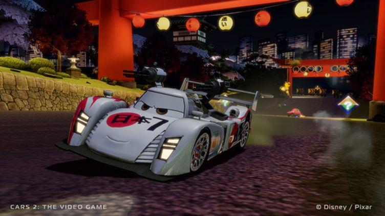 Cars 2 en visite au Japon