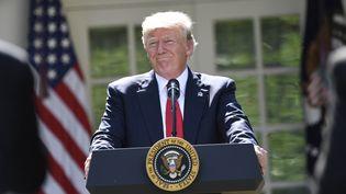Donald Trump, le 1er juin 2017. (SAUL LOEB / AFP)