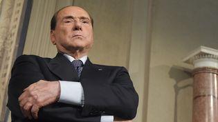 Silvio Berlusconi, en mai 2018. (TIZIANA FABI / AFP)