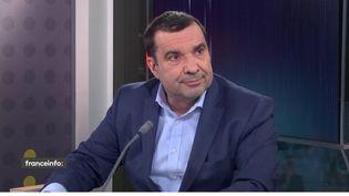 Richard Ramos, député du Loiret et secrétaire général adjoint du MoDem, invité de franceinfomardi 2 mars. (FRANCEINFO)