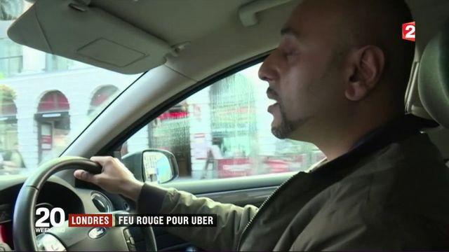 Londres : Uber perd sa licence d'exploitation
