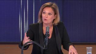 Olivia Grégoire, secrétaire d'État chargée de l'Economie sociale, solidaire et responsable, invitée de franceinfo le 14 mai 2021. (FRANCEINFO / RADIO FRANCE)
