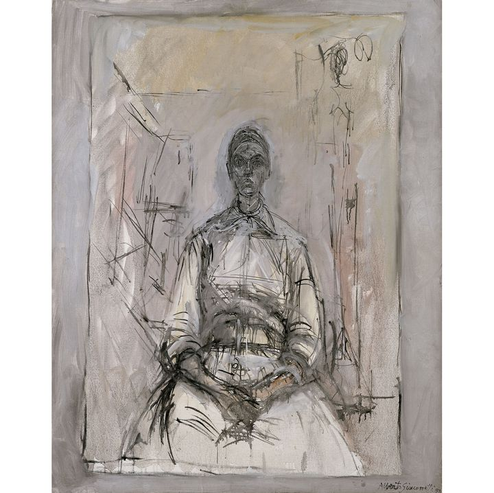 "Alberto Giacometti, ""Aïka"", 1959, Fondation Beyeler, Riehen/Basel   (Photo : Peter Schibli / Beyeler Collection © Succession Alberto Giacometti (Fondation Alberto et Annette Giacometti, Paris & ADAGP, Paris) 2017)"