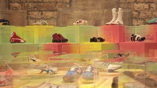 Les baskets représentent la moitié des ventes de chaussures en France. Plus qu'une mode, c'est un objet culte qui attire la convoitise des grands collectionneurs. (France 3)