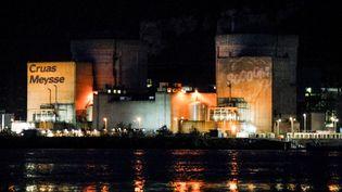 Une vingtaine de militants de Greenpeace France se sont introduits dans la centrale nucléaire de Cruas-Meysse (Ardèche), le 28 novembre 2017. (- / GREENPEACE)