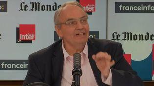 Jean-Louis Bourlanges, député Modem, sur franceinfo, le 16 mai 2021. (FRANCEINFO / RADIOFRANCE)
