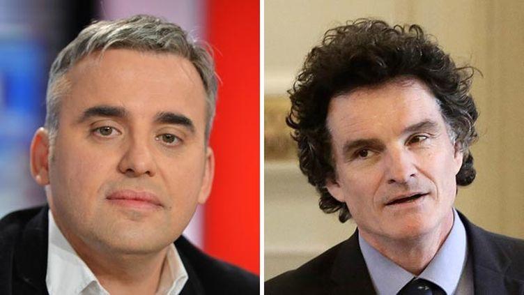 (Alexis Corbière et Paul Molac opposés sur la Charte des langues régionales © IBO-SIPA | MAXPPP)