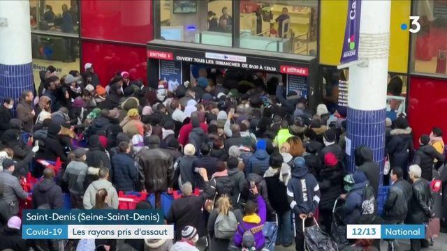 Confinement : les consommateurs se ruent dans les supermarchés