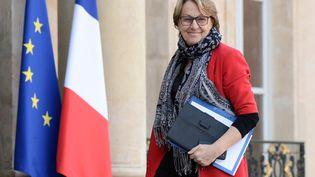 La ministre de la Fonction publique, Marylise Lebranchu, à l'Elysée, le 19 février 2015. (STEPHANE DE SAKUTIN / AFP)