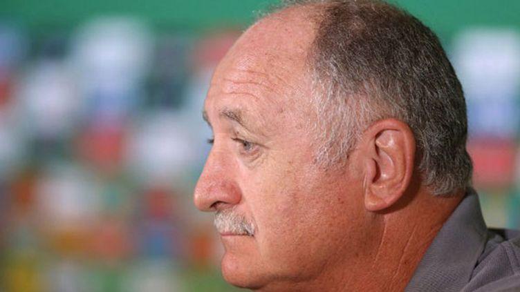 Le sélectionneur du Brésil, Luiz Felipe Scolari