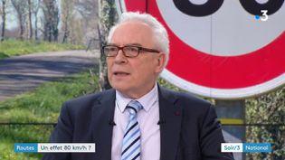 Jean-Luc Michaud,président du comité indépendant d'évaluation des 80 km/h (France 3)