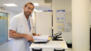 Le médecin Raphaël Pitti à Nancy (Meurthe-et-Moselle), le 19 février 2014. (JEAN-CHRISTOPHE VERHAEGEN / AFP)
