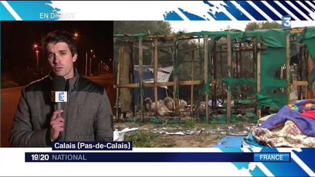 "Calais : la ""jungle"" vidée de ses occupants"