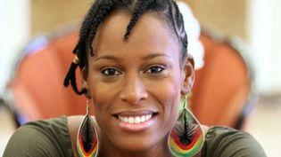 """Sandra Nkake, Victoire du Jazz de la """"Révélation"""" de l'année  (Mehdi Fedouach/AFP)"""