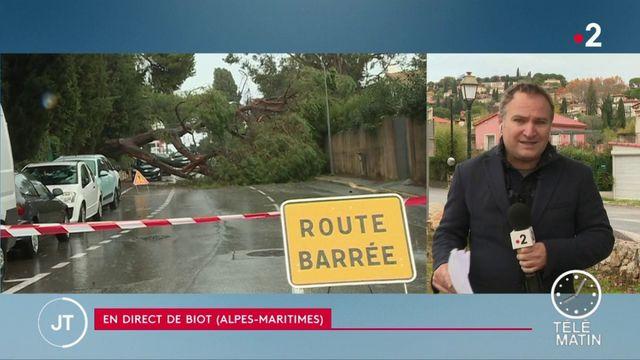 Alpes-Maritimes : à Biot inondée, c'est la décrue