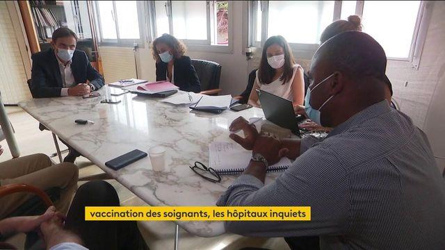 Covid-19 : inquiétude dans les hôpitaux à cause de l'obligation vaccinale des soignants