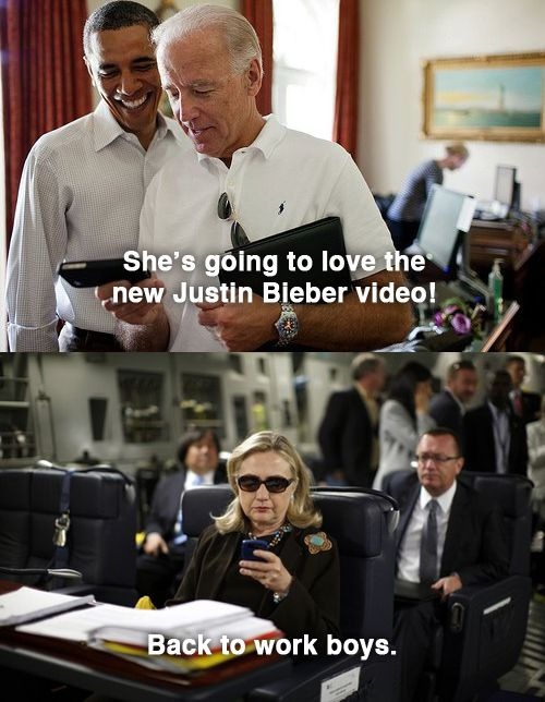 Montagehttp://textsfromhillaryclinton.tumblr.com/post/20840535068/thanks-to-capitolhillkid-and-adamconner-for (KEVIN LAMARQUE / X00157)