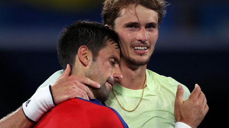Alexander Zverev élimine Novak Djokovic à Tokyo. (JAN WOITAS / DPA-ZENTRALBILD)