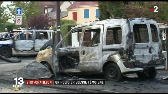 Viry-Châtillon : un policier blessé témoigne deux ans après les faits