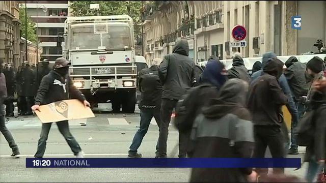 Code du travail : les manifestants ont été dispersés