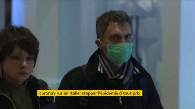 Coronavirus : l'Italie essaie de contenir l'épidémie