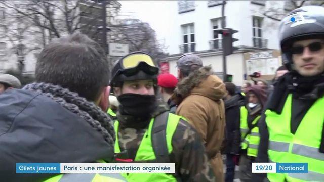 """""""Gilets jaunes"""" : manifestation organisée à Paris"""