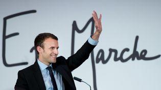L'ancien ministre de l'Economie, Emmanuel Macron, le 5 novembre 2016 à Paris. (CHAMUSSY / SIPA)