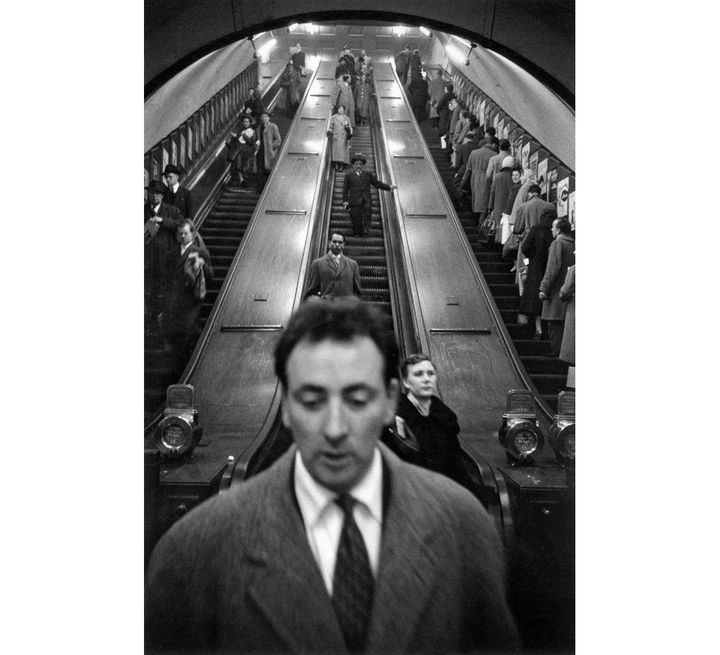 Sergio Larrain, Station de métro Baker Street, Londres, 1959 (© Sergio Larrain / Magnum Photos)