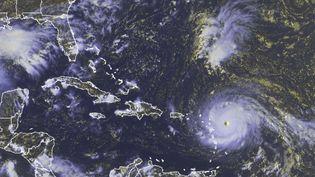 Vue satellite de l'ouragan Irma, prise le 5 septembre 2017. (AP / SIPA)