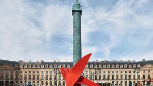 "Alexander Calder, ""Flying Dragon"" (le Dragon volant), 1975 (THOMAS LANNES / COURTESY GAGOSIAN / / 2021 CALDER FOUNDATION)"
