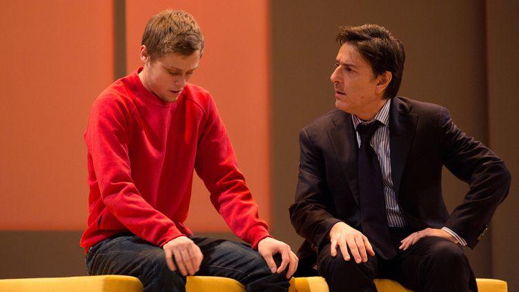 """Rod Paradot et Yvan Attal dans """"Le Fils"""" de Florian Zeller  (Lisa Lesourd)"""