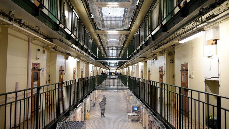 Dans la prison de Fresnes dans le Val-de-Marne, le 11 janvier 2018 (photo d'illustration) (STEPHANE DE SAKUTIN / AFP)
