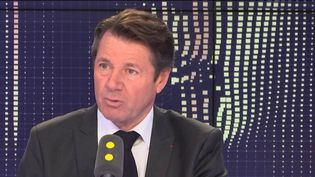 Le maire Les Républicains de Nice, invité mardi 29 janvier 2019 de franceinfo. (FRANCEINFO / RADIOFRANCE)
