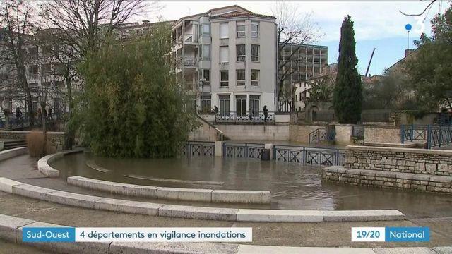 Inondations dans le Sud-Ouest : un village coupé du monde