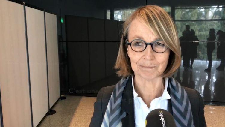 Françoise Nyssen, la ministre de la Culture à Tours. (RADIO FRANCE)