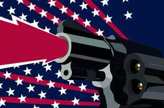 Soixante-dix-sept personnes ont été tuées par arme à feu aux Etats-Unis, le 5 novembre 2017, selon un décompte réalisé à partir des données du projet Gun Violence Archive. (AWA SANE / BAPTISTE BOYER)