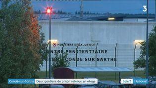 La prisond e Condé-sur-Sarthe (Orne) (France 3)