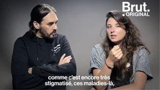 """VIDEO. """"Tous les schizophrènes n'entendent pas des voix"""" : Gringe et Lucille Zola veulent brisent le tabou sur la maladie (BRUT)"""