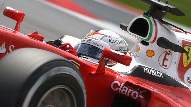Sebastian Vettel (Ferrari) (LLUIS GENE / AFP)