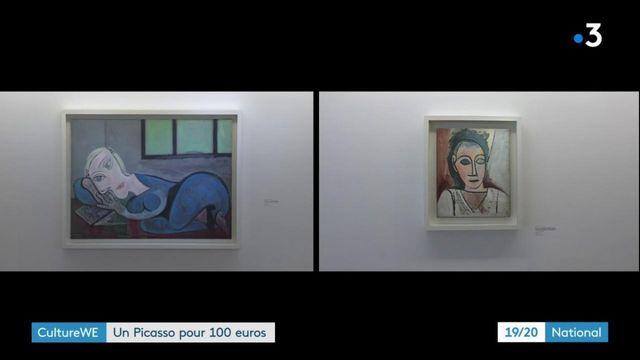 Culture : gagnez un tableau de Picasso en dépensant 100 euros