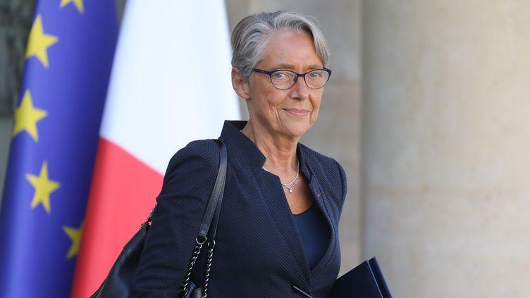 Elisabeth Borne, ministre de la Transition écologique, à la fin du conseil des ministres du 11 septembre 2019, à Paris. (LUDOVIC MARIN / AFP)
