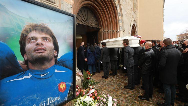 Les obsèques de Christophe Dominici, à Hyères (LAURENT MARTINAT / MAXPPP)