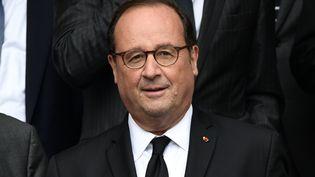 François Hollande, le 26 septembre 2019, à Paris. (MARTIN BUREAU / AFP)