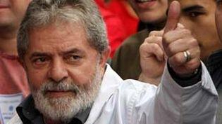 Le président brésilien Luiz Inacio Lula da Silva (2008) (AFP)