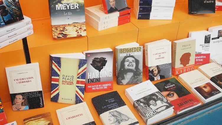 Vitrine de rentrée de la librairie Chantelivre à Issy-les-Moulineaux  (Laurence Houot / Culturebox)