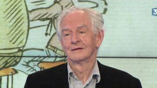 """René Pétillon, auteur-dessinateur de bandes-dessinées, est l'invité du Grand Soir 3, ce jeudi 27 avril pour nous présenter son livre de dessins intitulé """"Un certain climat"""". (FRANCE 3)"""
